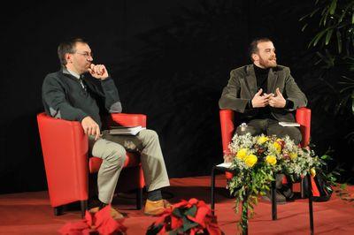 Giulio Moretti e Luca Martinelli