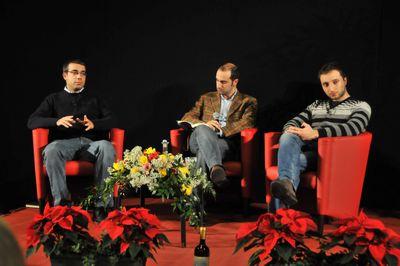 Marco Morello, Matteo Femia e Carlo Tecce