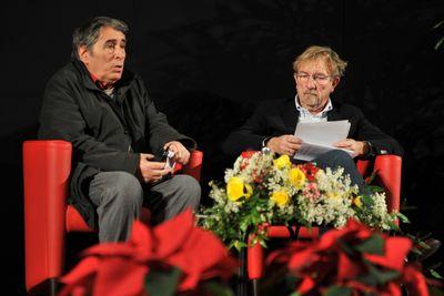 Ferdinando Camon e Mario Brandolin