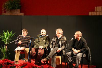 Roberto Covaz, Alberto Custerlina, Veit Heinechen e Marco Giovanetti