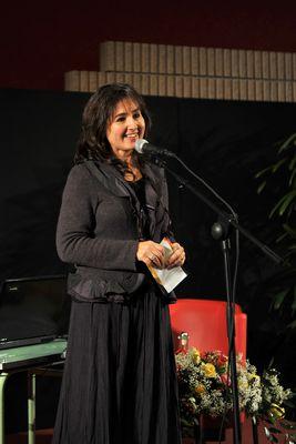 Sabrina Vidon, presentatrice e addetta stampa