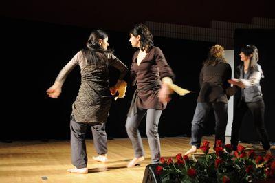 il balletto con Marianna Martinelli, Agnese Spinelli, Giulia Strizzolo, Barbara Tesini e Gava  Leonarduzzi
