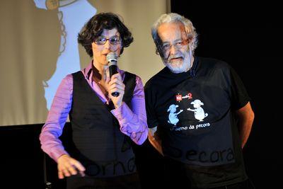 Sabrina Vidon e Claudio Sabelli Fioretti
